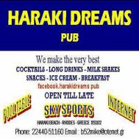 Εστιατόριο Χαράκι, Εστιατόριο Ρόδος, καφέ Χαράκι, καφέ Ρόδος, μπαρ Χαράκι, μπαρ Ρόδος, καφετέρια Χαράκι, καφετέρια Ρόδος, Haraki Dreams, Estiatorio Charaki