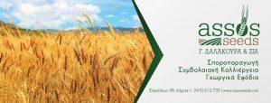 Γεωργικά εφόδια Λάρισα, σποροπαραγωγική ΖΕΤΑΕ Λάρισα, αγροτικά προϊόντα Λάρισα. Φυτοπροστασία Λάρισα, γεωργικά είδη Λάρισα. Αγροτικό προϊόν Λάρισα, γεωργικό είδος Λάρισα. Assos Seeds